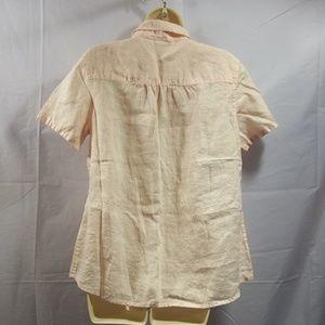 fba96dfea6 J. Jill Tops - J. Jill Womens Top Blouse Button Down Shirt Size M